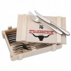 Steak knives and forks set 6 pairs
